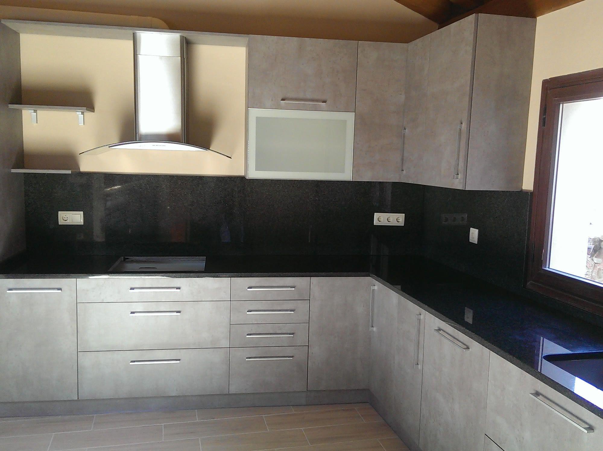 Encimeras de cocina Granito Negro Sudáfrica